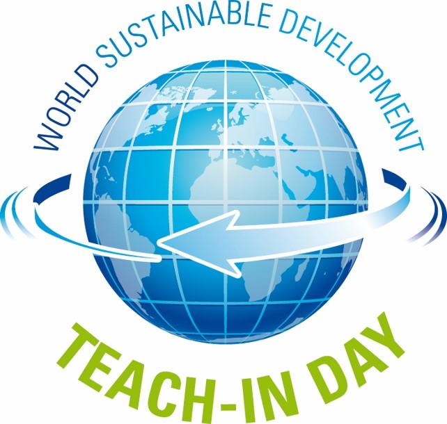 World Sustainable Development Teach-in day Logo
